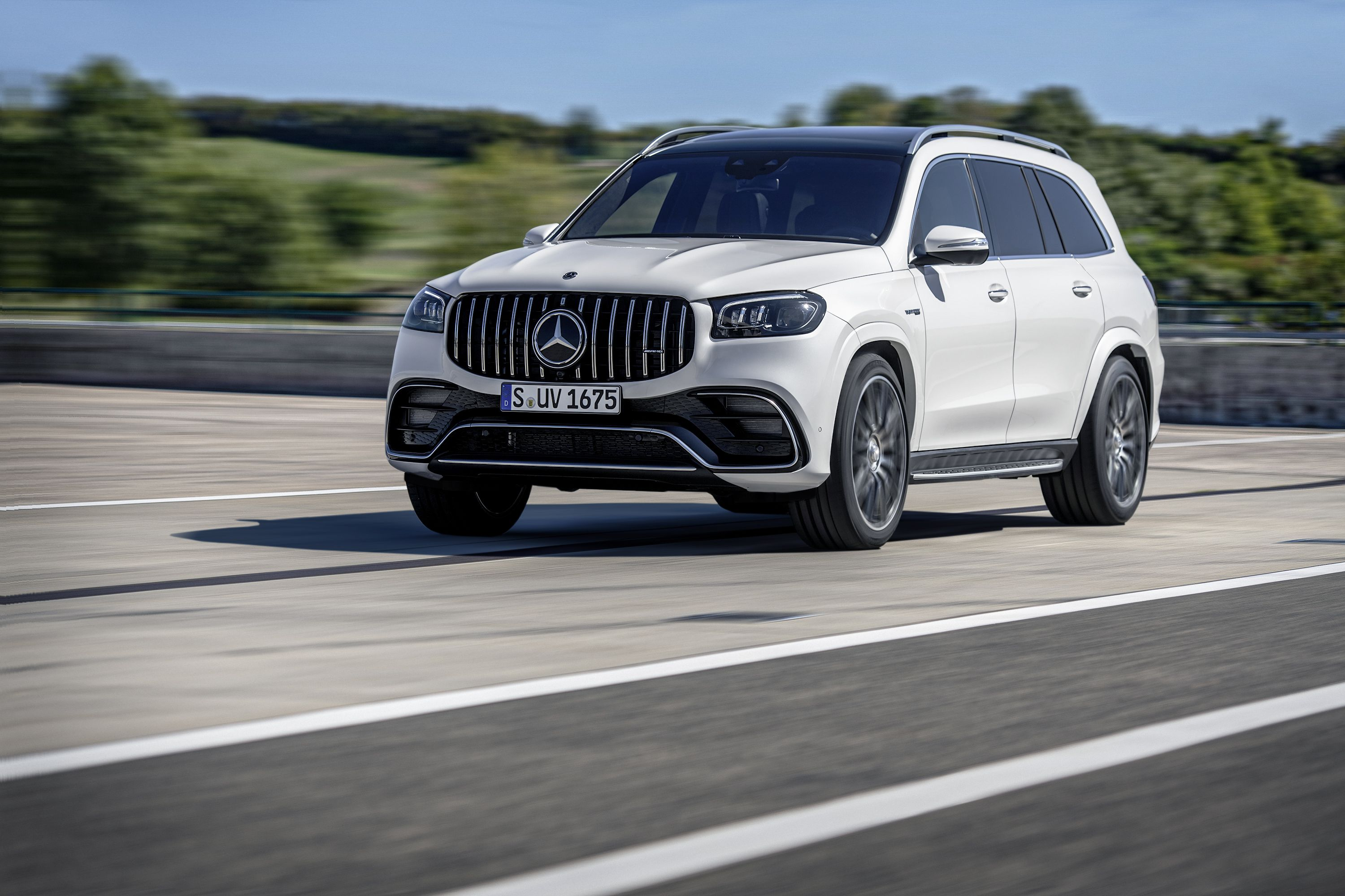 The 2020 Mercedes-AMG GLS 63 S and GLE 63 S Get 603 HP of Twin-Turbo V-8 Power