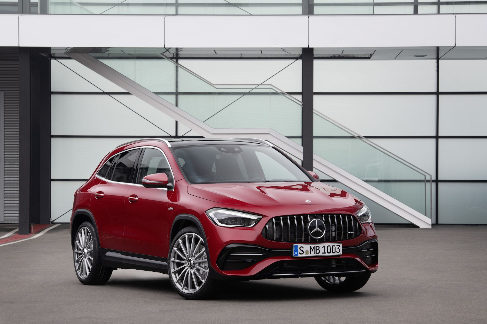 The 2021 Mercedes-AMG GLA 35 Is a Hot Hatch for Crossover-Crazed America