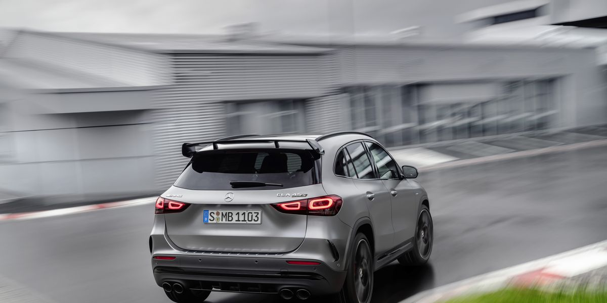 The 2021 Mercedes-Benz GLA-Class looks way better with the company's Panamericana Grille
