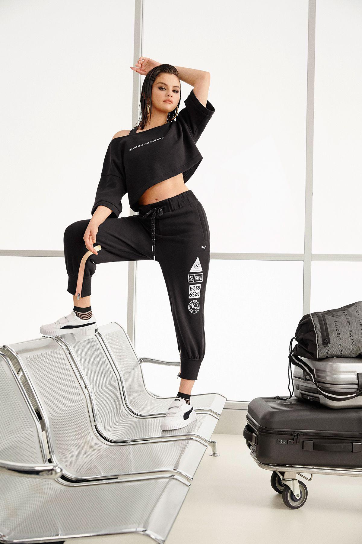 Selena Gomez diseña una colección para Puma