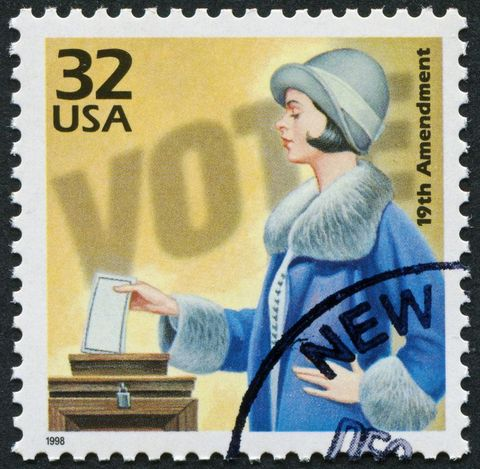 19th Amendment Stamp