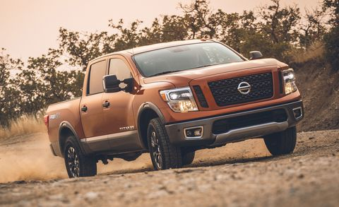 2019 Nissan Titan Has A Better Touchscreen Still No V 6