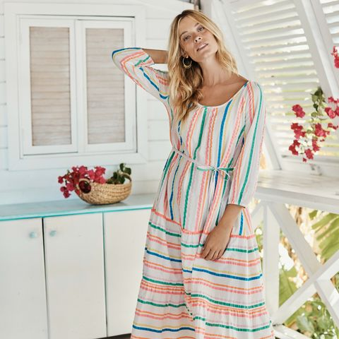 Boden summer midi dress