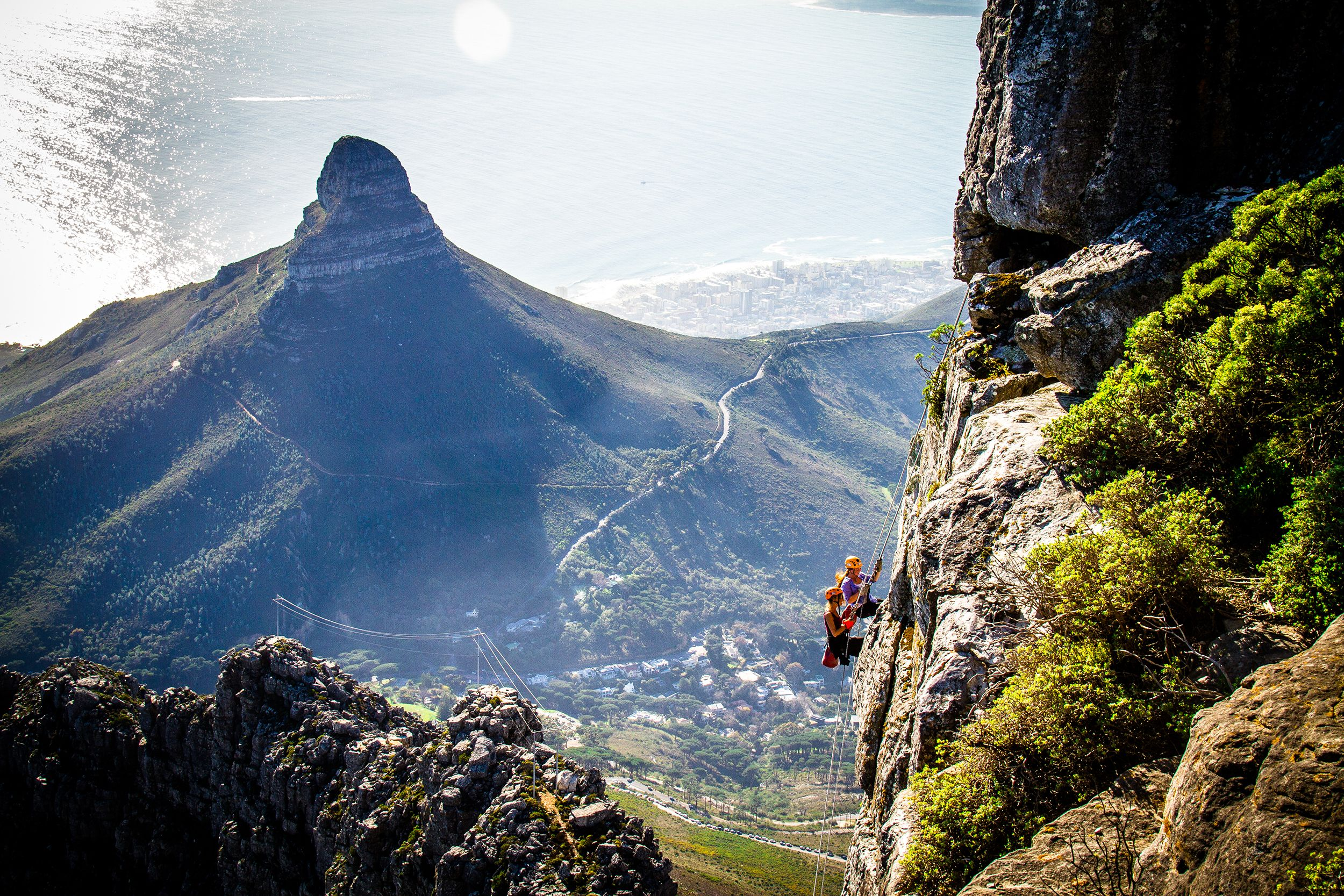 Things to do in Cape Town: Abseil Table Mountain