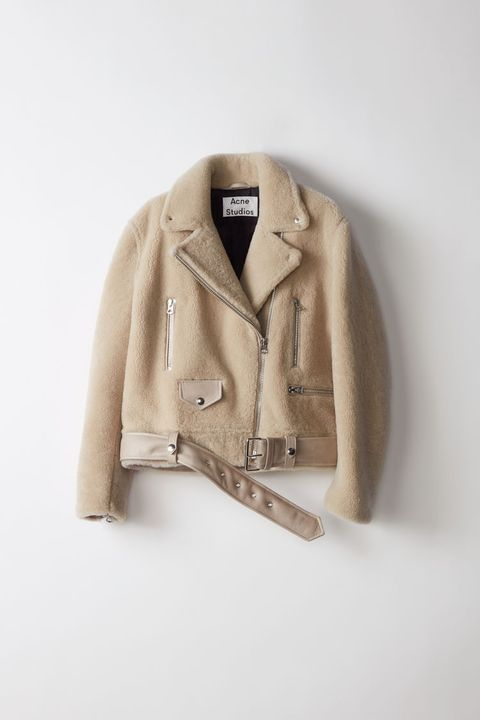 Clothing, Outerwear, Beige, Jacket, Sleeve, Blazer, Clothes hanger, Coat, Top, Sweater,
