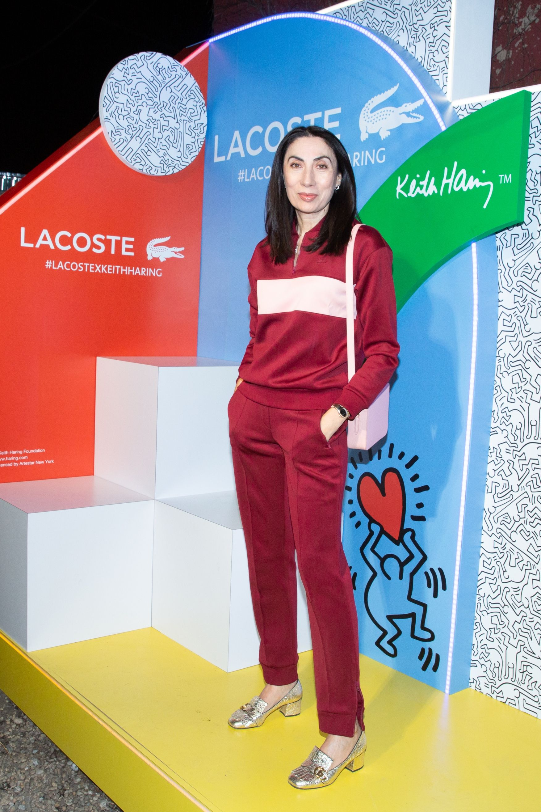 Anh Duong Anh Duong at the Lacoste x Keith Haring global launch party at Pioneer Works in Brooklyn on March 26.