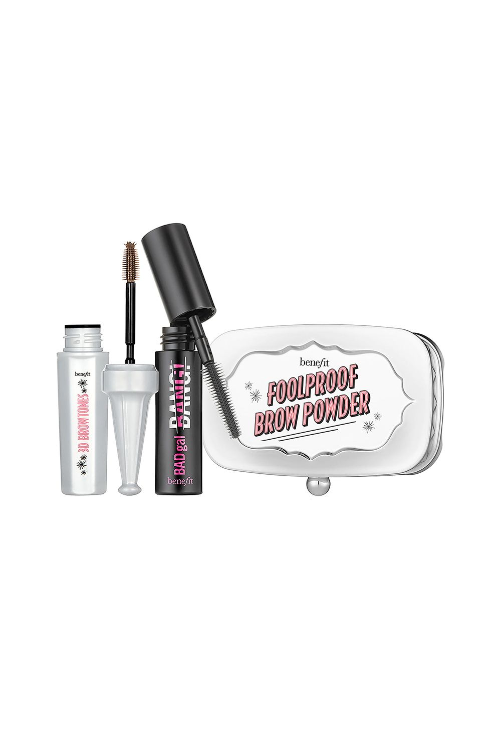 This Mini Brow Tin Benefit Fall Faves Brow Set If brows are your vice, there's no reason you don't deserve this set of Benefit's best-selling brow products. Regular price: $26 Sale price: $21 SHOP IT ...