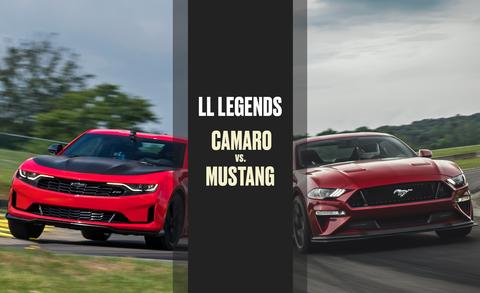 Lightning Lap All Time Showdown Chevrolet Camaro Vs Ford Mustang
