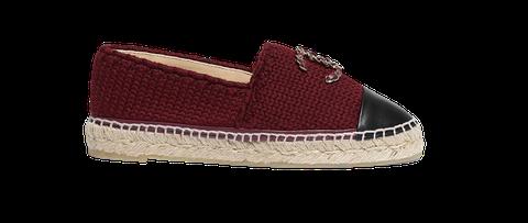 Footwear, Shoe, Espadrille, Product, Maroon, Beige, Brown,