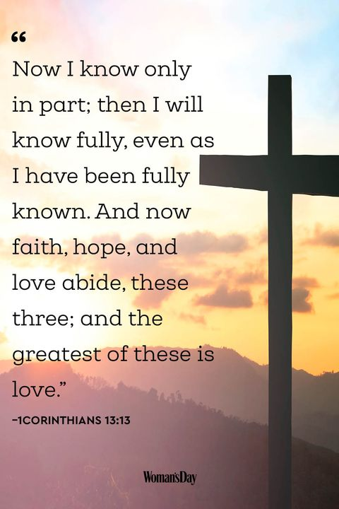 Encouraging Bible Verses - 1Corinthians 13:13