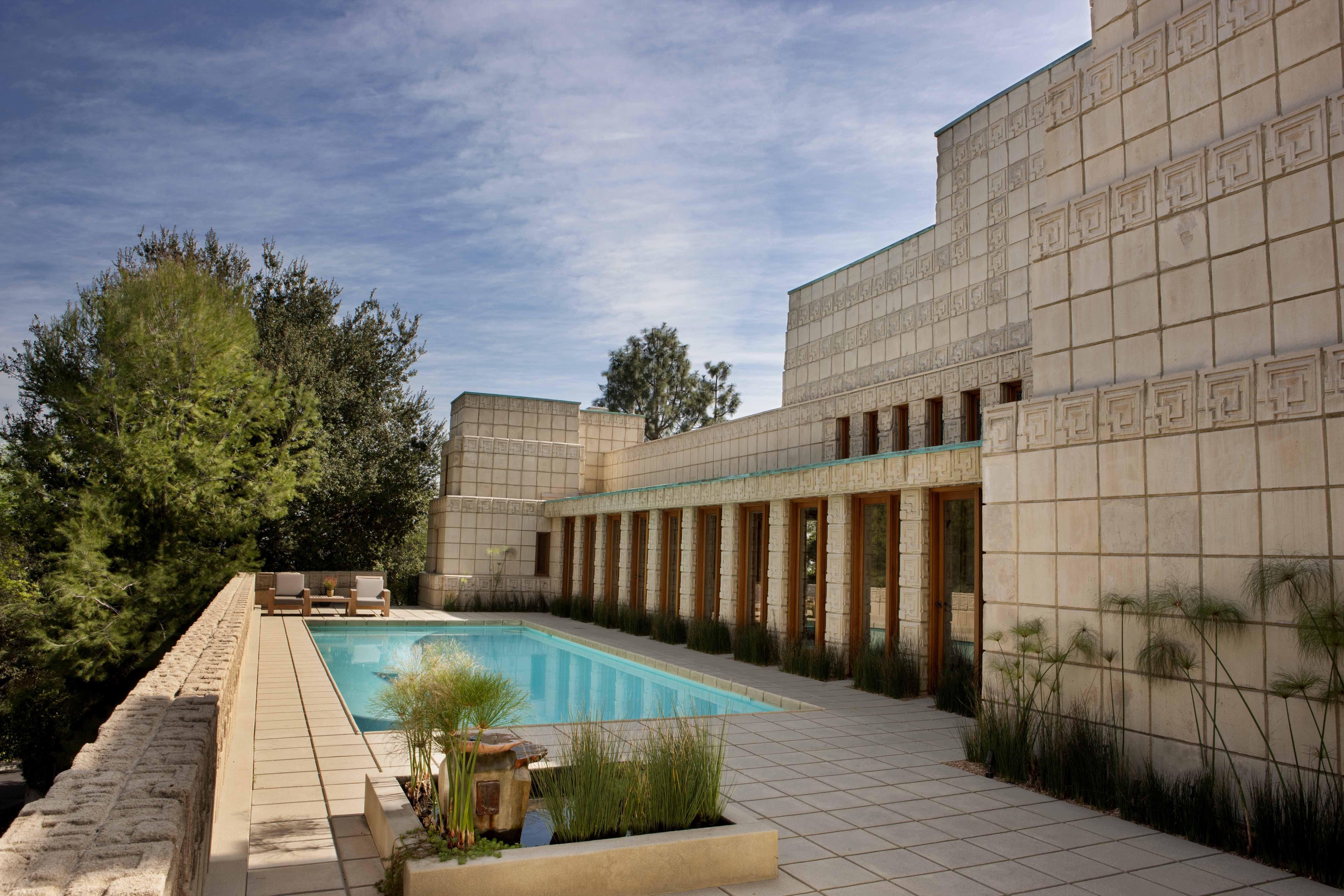 Ennis House Los Angeles