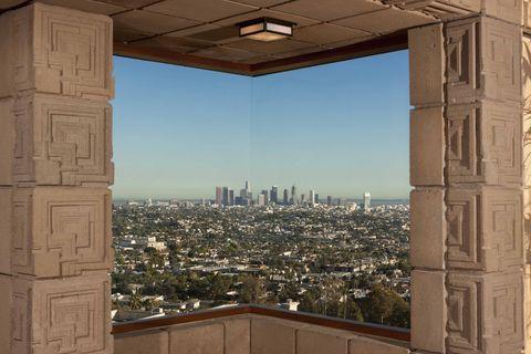 Frank Lloyd Wright Ennis House Ron Burkle Bladerunner