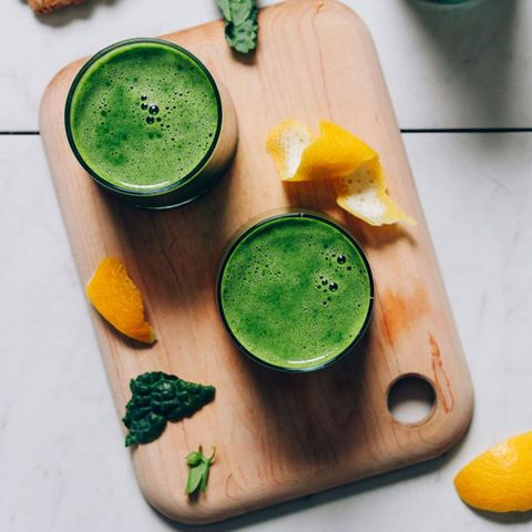 minimalist baker easy green juice