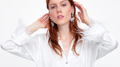 Esta Camisa Blanca De Zara Es Lo Mas Y Todo Por El Detalle De Las