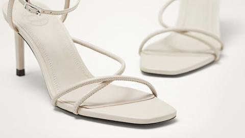 Massimo Dutti sandalias blancas
