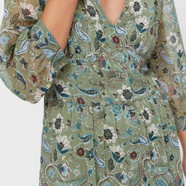 stradivarius vestido boho