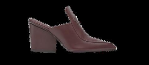 Footwear, Shoe, Slingback, Brown, Beige, Boot, High heels, Leather,