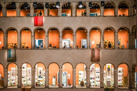 Architecture, Landmark, Building, Arch, Town, Facade, City, Night, Arcade, Window,