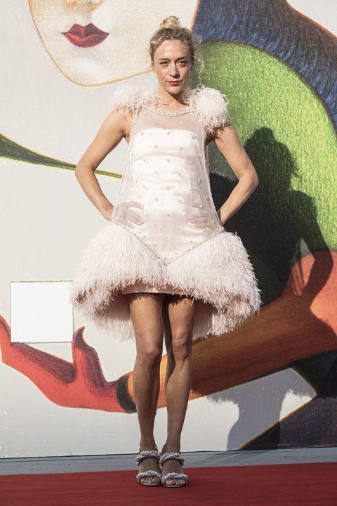White, Clothing, Dress, Fashion, Beauty, Cocktail dress, Leg, Yellow, Fashion model, Footwear,