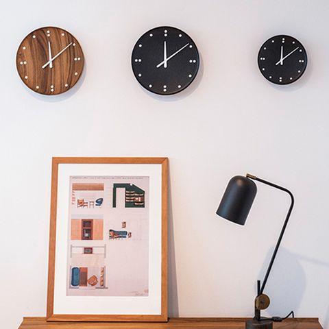 フィン・ユール Wall Clock Black