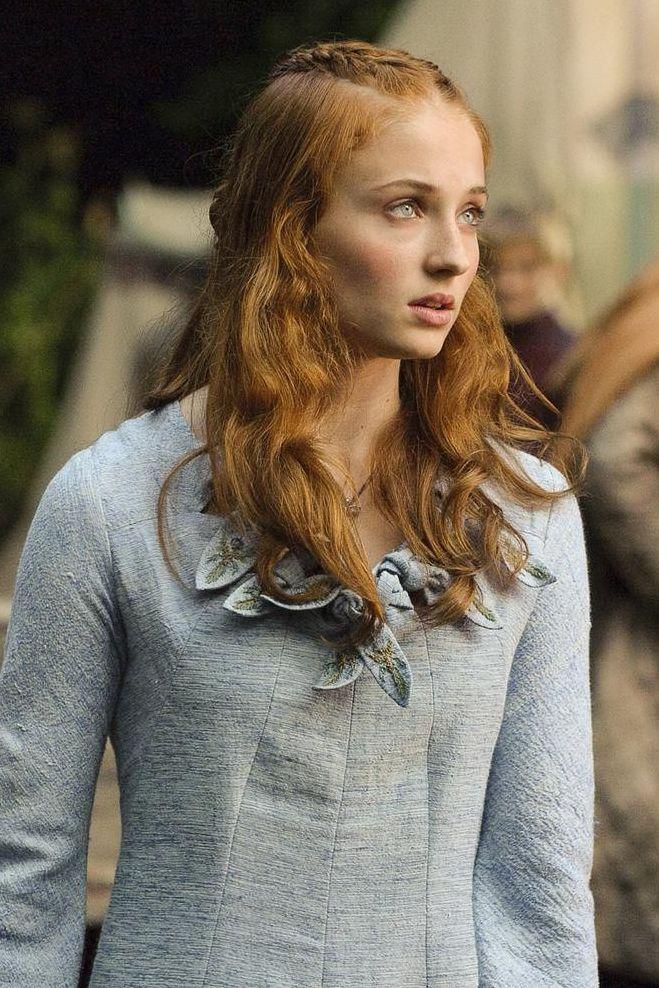 權力遊戲,冰與火之歌,第八季,蘇菲特納,Sophie Turner,season8,造型,髮型,美劇,HBO