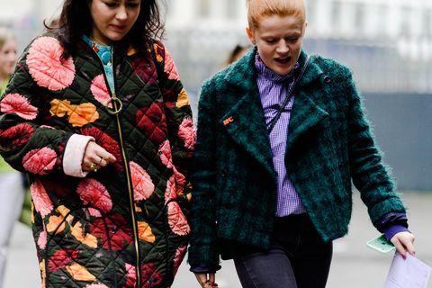 Street fashion, Clothing, Fashion, Fur, Outerwear, Wool, Jacket, Textile, Coat, Collar,