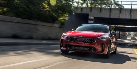 2018 Kia Stinger Gt By The Numbers