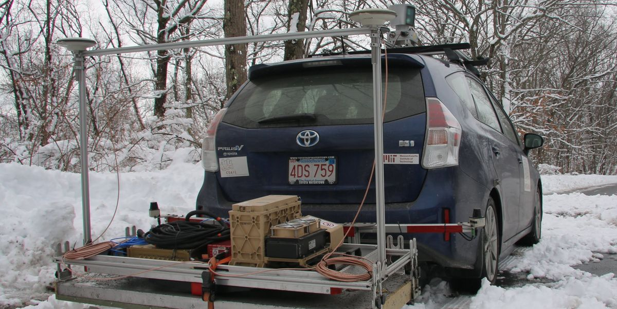 Autonomous Cars Struggle in Snow, but MIT Has a Solution for That