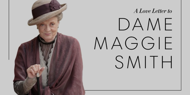 Watch the Cast of Downton Abbey Wax Poetic Over Maggie Smith