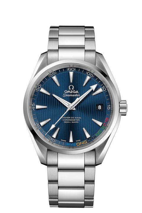 Watch, Analog watch, Watch accessory, Fashion accessory, Product, Blue, Strap, Jewellery, Silver, Brand,