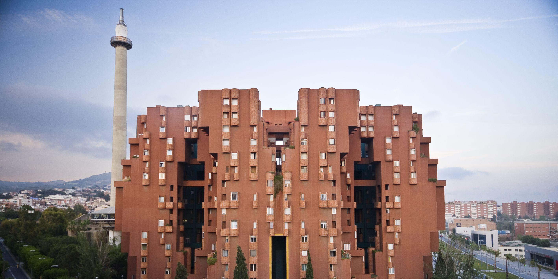 Walden 7, Ricardo Bofill e Taller De Aqruitectura - Sant Just Desvern, Barcellona, Spagna