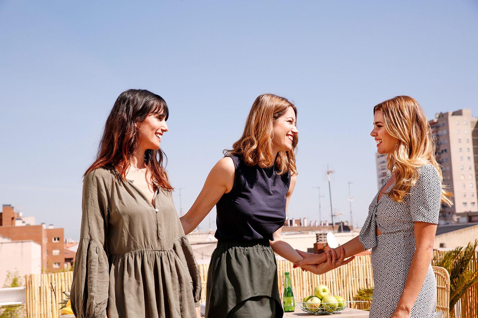 Ana Albaladejo, Laura Caldarola y Míriam Pérez