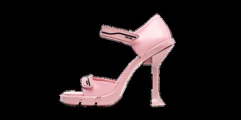 Footwear, High heels, Pink, Sandal, Shoe, Mary jane, Basic pump, Leg, Strap, Bridal shoe,