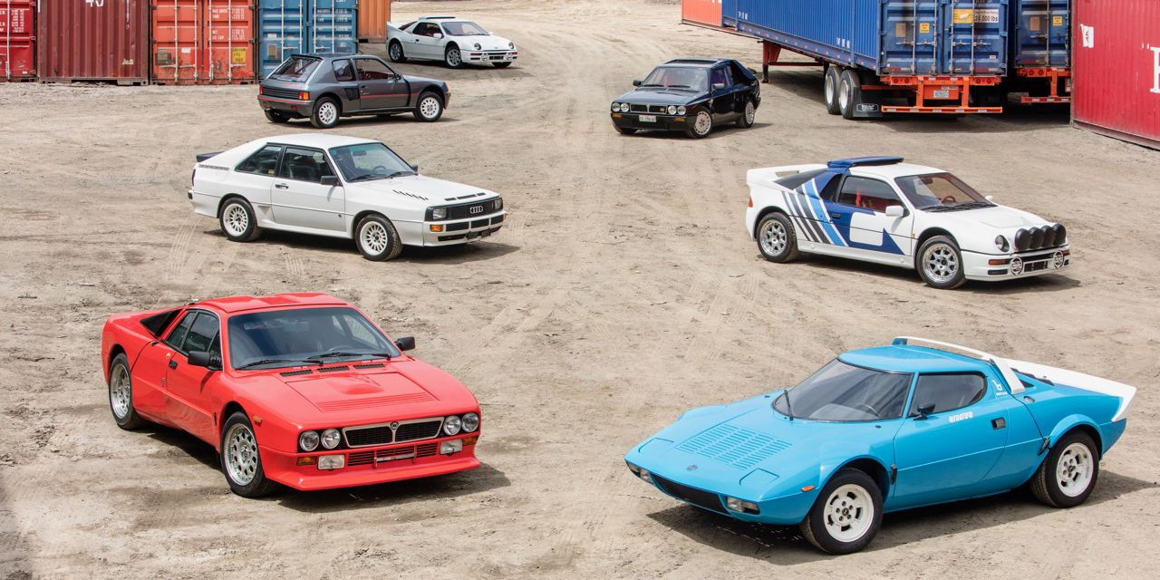 You Can Buy an Amazing Rally Car Collection at a No-Reserve Auction ...