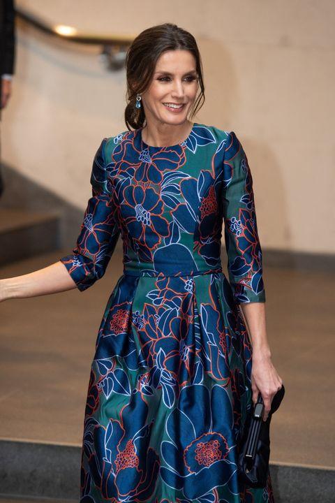 La Reina Letizia Tiene Ese Vestido De Carolina Herrera