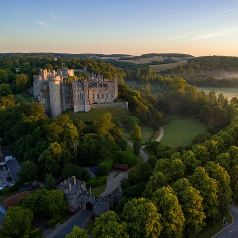 Aerial photography, Nature, Natural landscape, Sky, Bird's-eye view, Morning, Landscape, Photography, City, Castle,