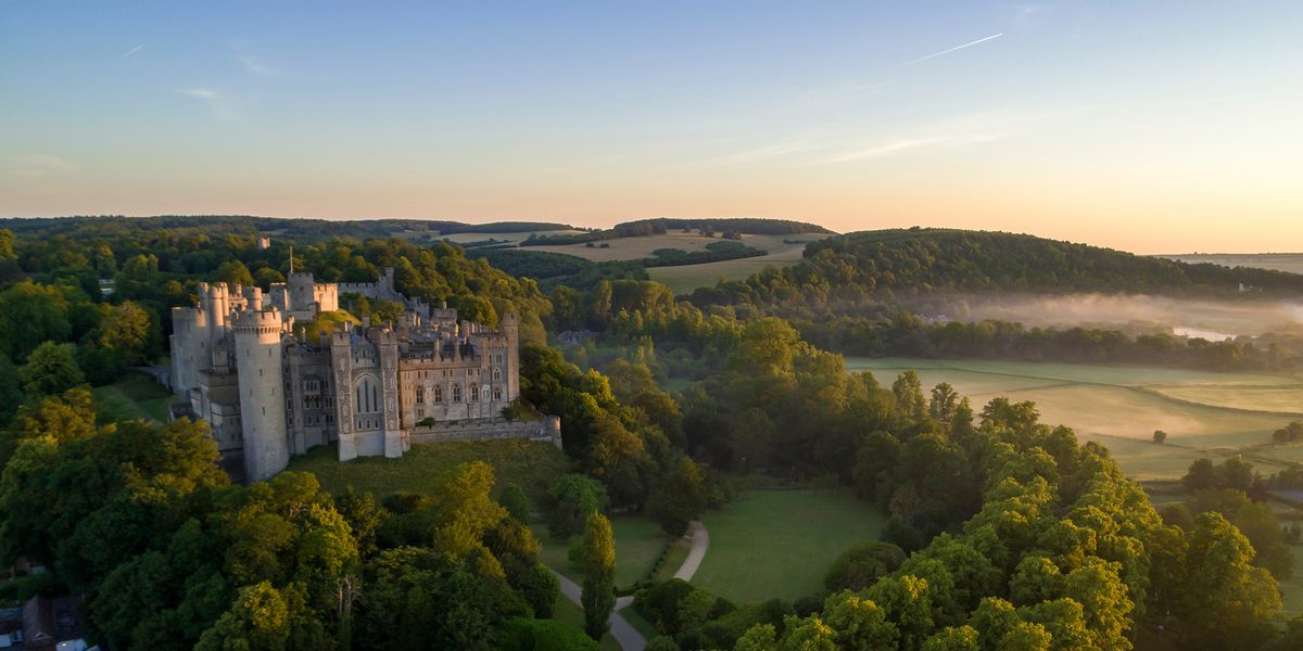 See Sussex's royal-worthy attractions on a slow rail escape