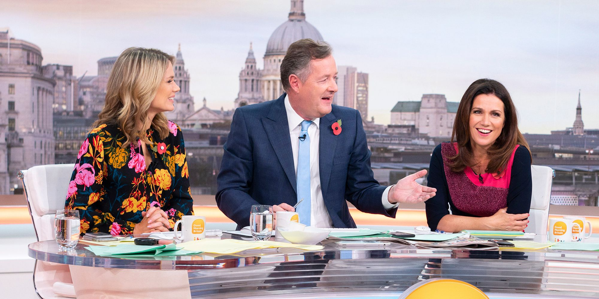 'Good Morning Britain' TV show, London, UK - 05 Nov 2018