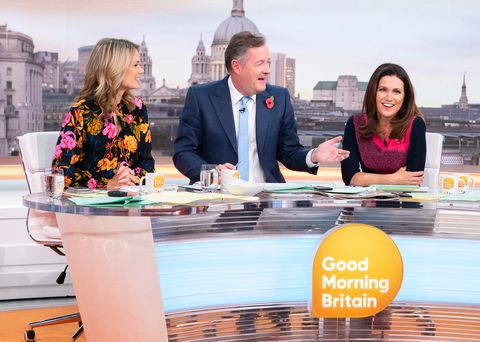 'Good Morning Britain' TV show, London, UK - 05 Nov 2018