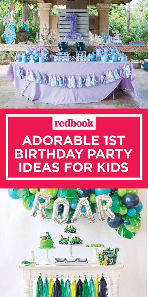15 Adorable 1st Birthday Party Ideas For Kids Best 1st Birthday