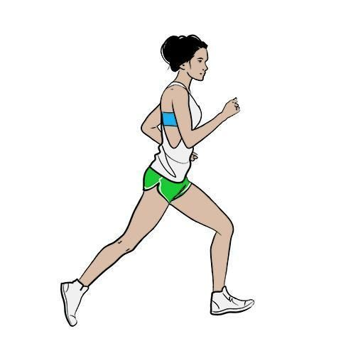 Running, Cartoon, Standing, Leg, Lunge, Recreation, Sports, Arm, Human leg, Athletics,