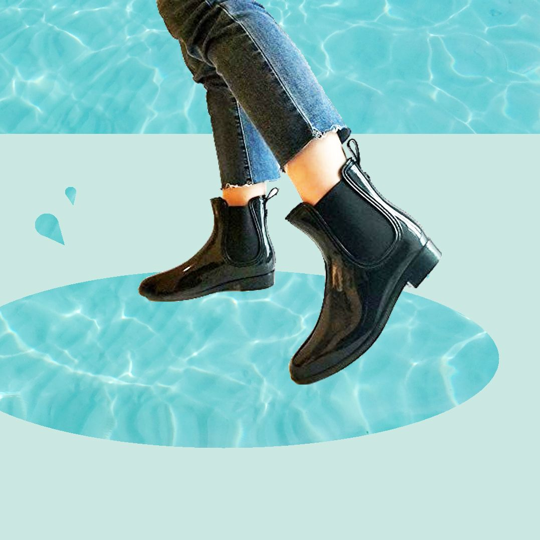 Wait, Hi, I Just Found Waterproof Rain Boots That Are Actually Cute