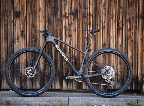 magura, concept, bike, geintegreerde remmen, mountainbike, bicycling