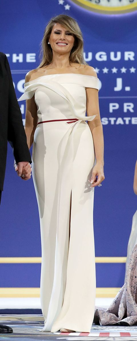 White, Red carpet, Clothing, Shoulder, Carpet, Dress, Fashion, Joint, Leg, Waist,