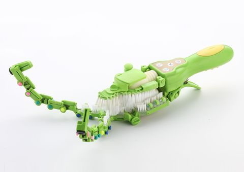 綠色的手持洗碗機