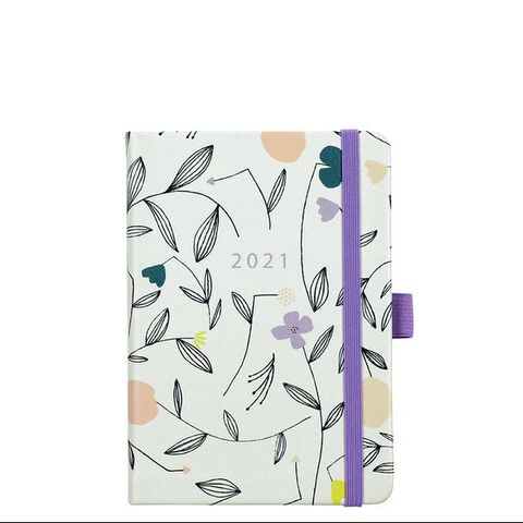 paperchase floral printed 2021 diary planner