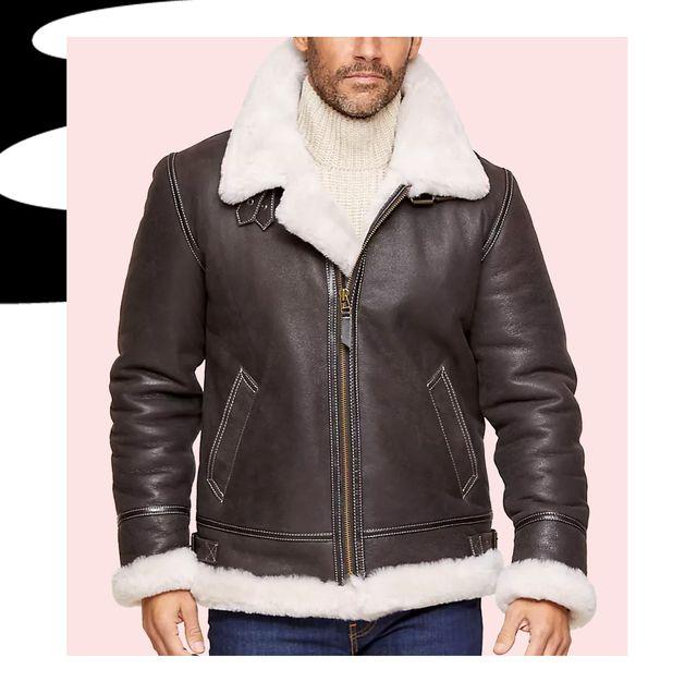 best shearling jackets coats men