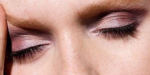 Eyebrow, Face, Eyelash, Eye, Skin, Eye shadow, Close-up, Nose, Organ, Cheek,