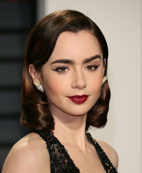 Hair, Face, Lip, Hairstyle, Eyebrow, Chin, Beauty, Cheek, Skin, Brown hair,