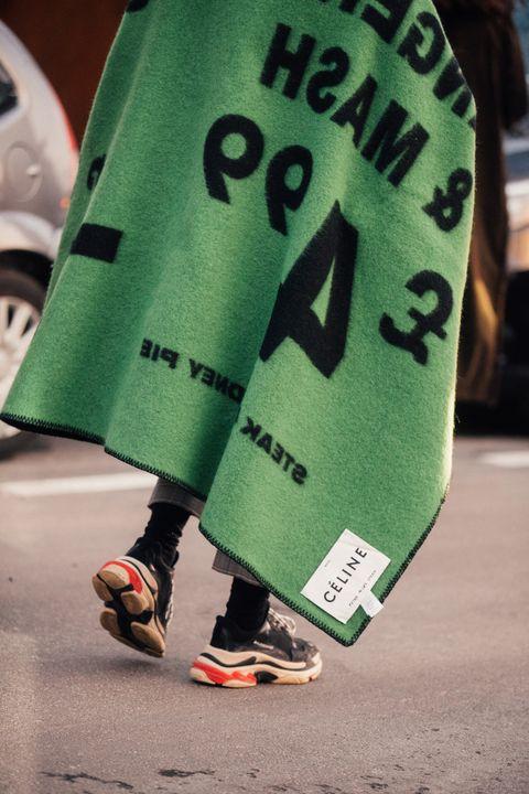 Green, Footwear, Outerwear, Leg, Human leg, Shoe, Finger, Plant, Street fashion, Costume,
